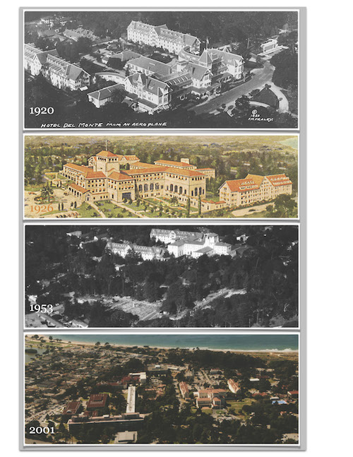 Aerial photos from 1920 to 2001