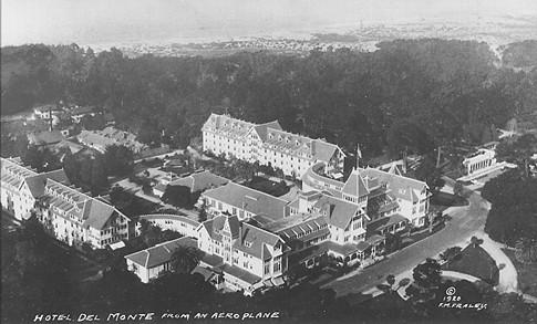 Hotel Del Monte 1920 Aerial View